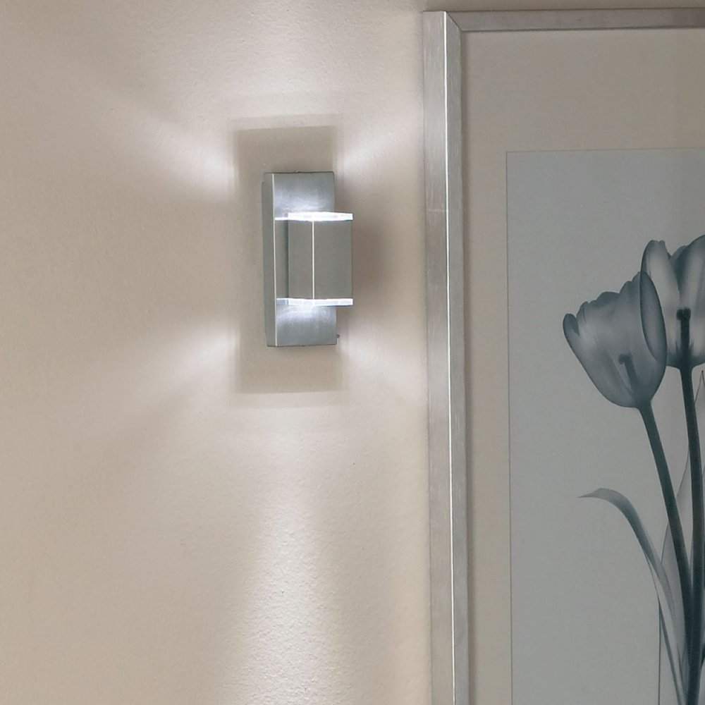 Up and down led wall lights - an innovative look for inside and outside your home Warisan Lighting