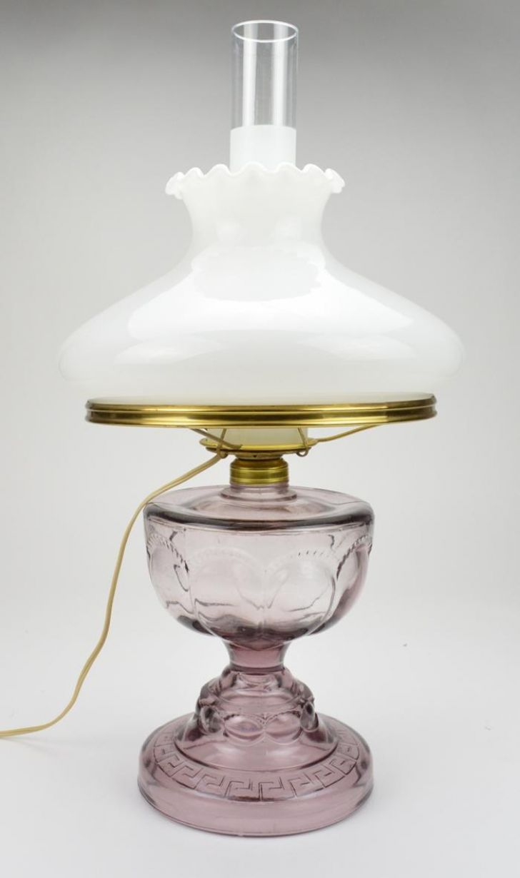Vintage glass table lamps - An Error Occurred
