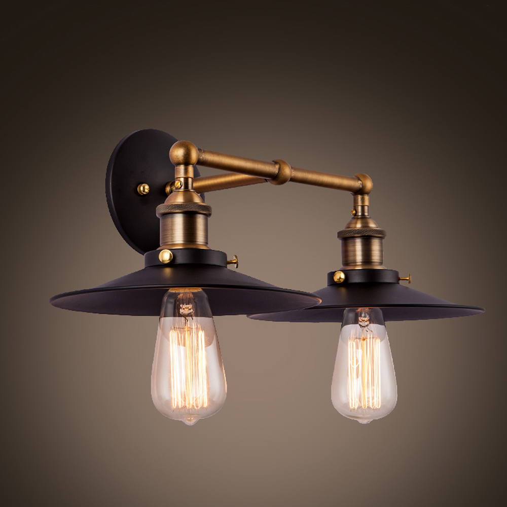 Vintage wall light fixtures add a touch of the 70 39 s or - Luminaire salle de bain led ...