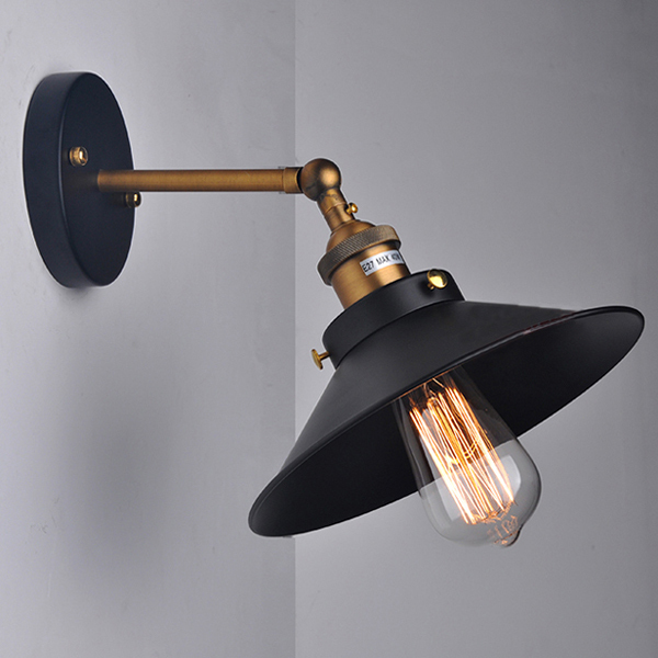 Vintage wall light fixtures add a touch of the 70 39 s or for Vintage exterior light fixtures