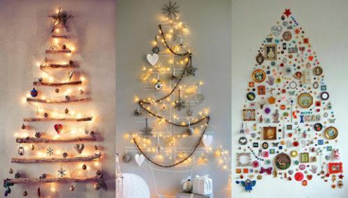 wall-christmas-tree-with-lights-photo-12