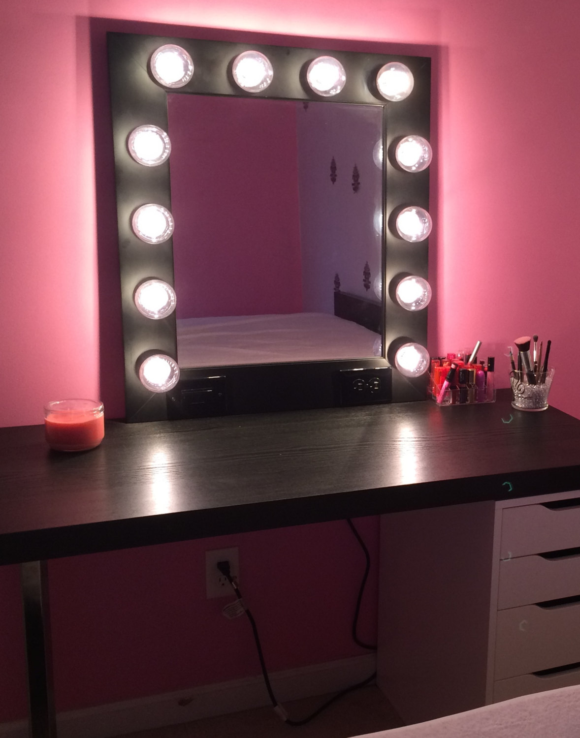 exquisite wall vanity mirror with lights  warisan lighting -  exquisite wall vanity mirror with lights