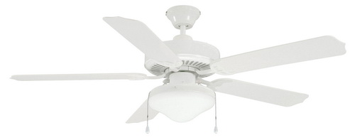 White-ceiling-fan-with-light-photo-7