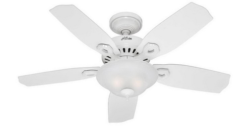 White-ceiling-fan-with-light-photo-9