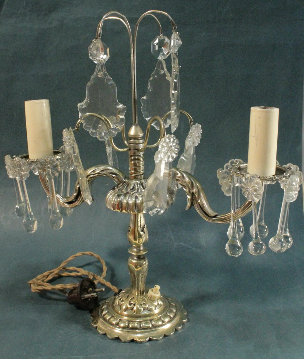 Top 10 antique crystal table lamps warisan lighting conclusion arubaitofo Choice Image