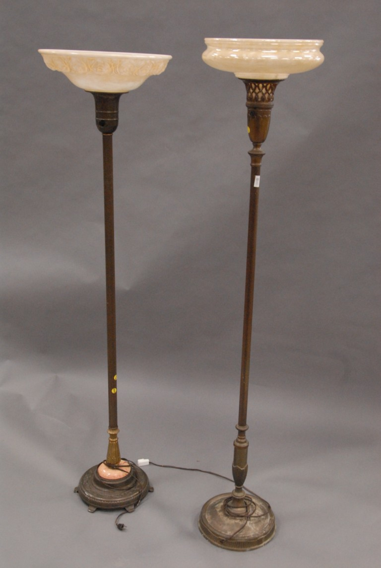 Make Your Room Amazing With Antique Torchiere Floor Lamp