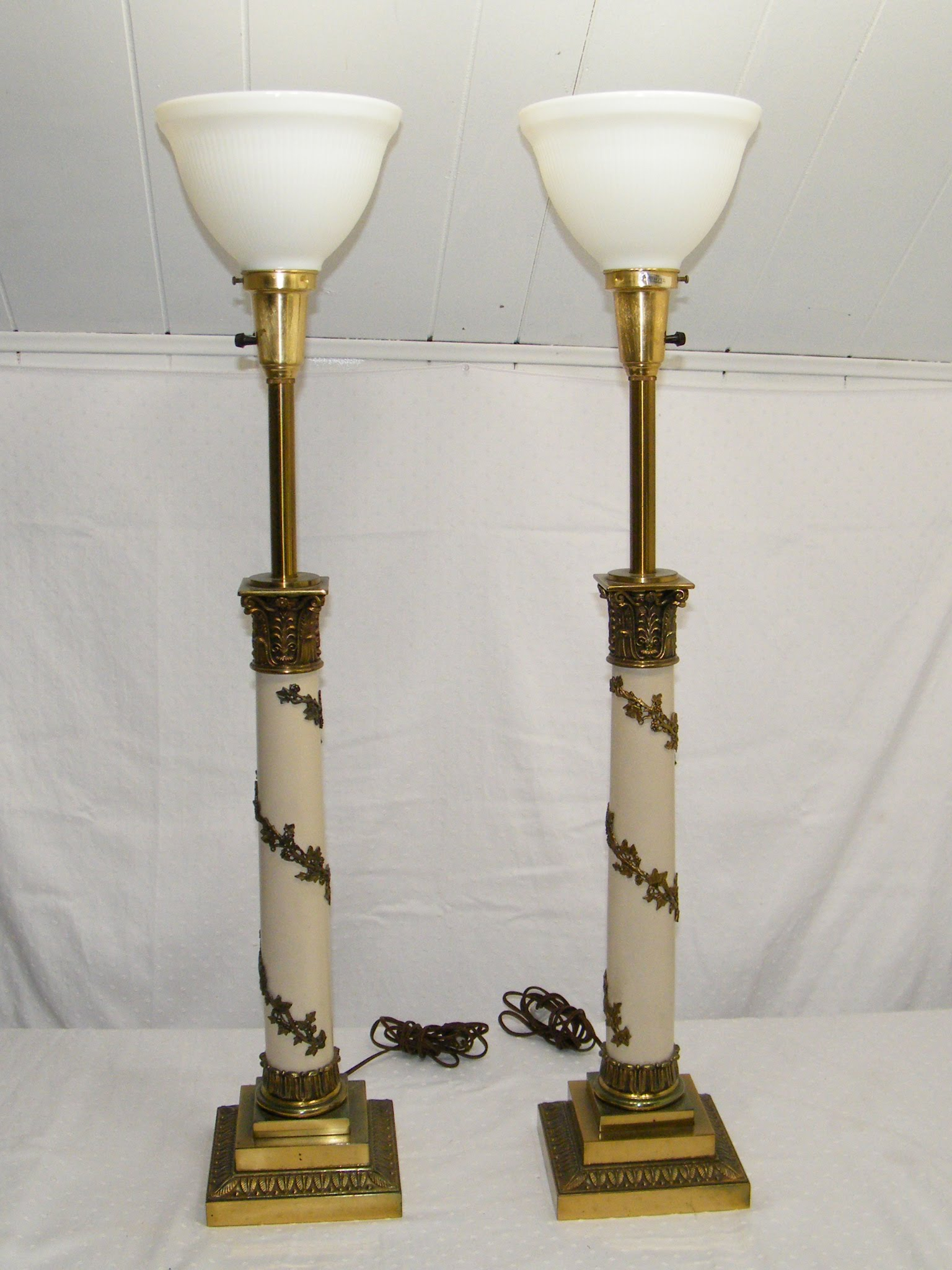 Make your room amazing with antique torchiere floor lamp warisan conclusion aloadofball Image collections