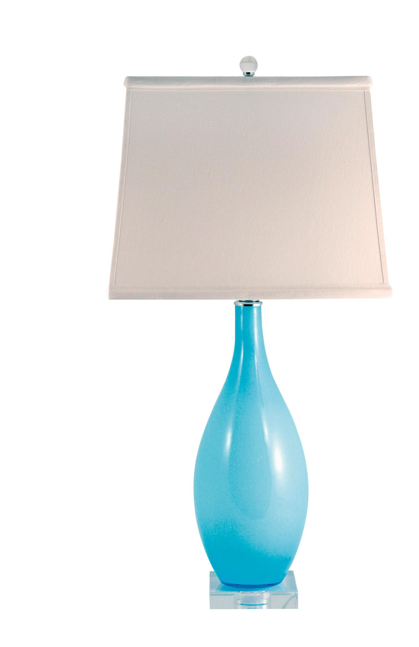 Aqua Glass Table Lamp Are One Of The Most Elegant Looking Lamps