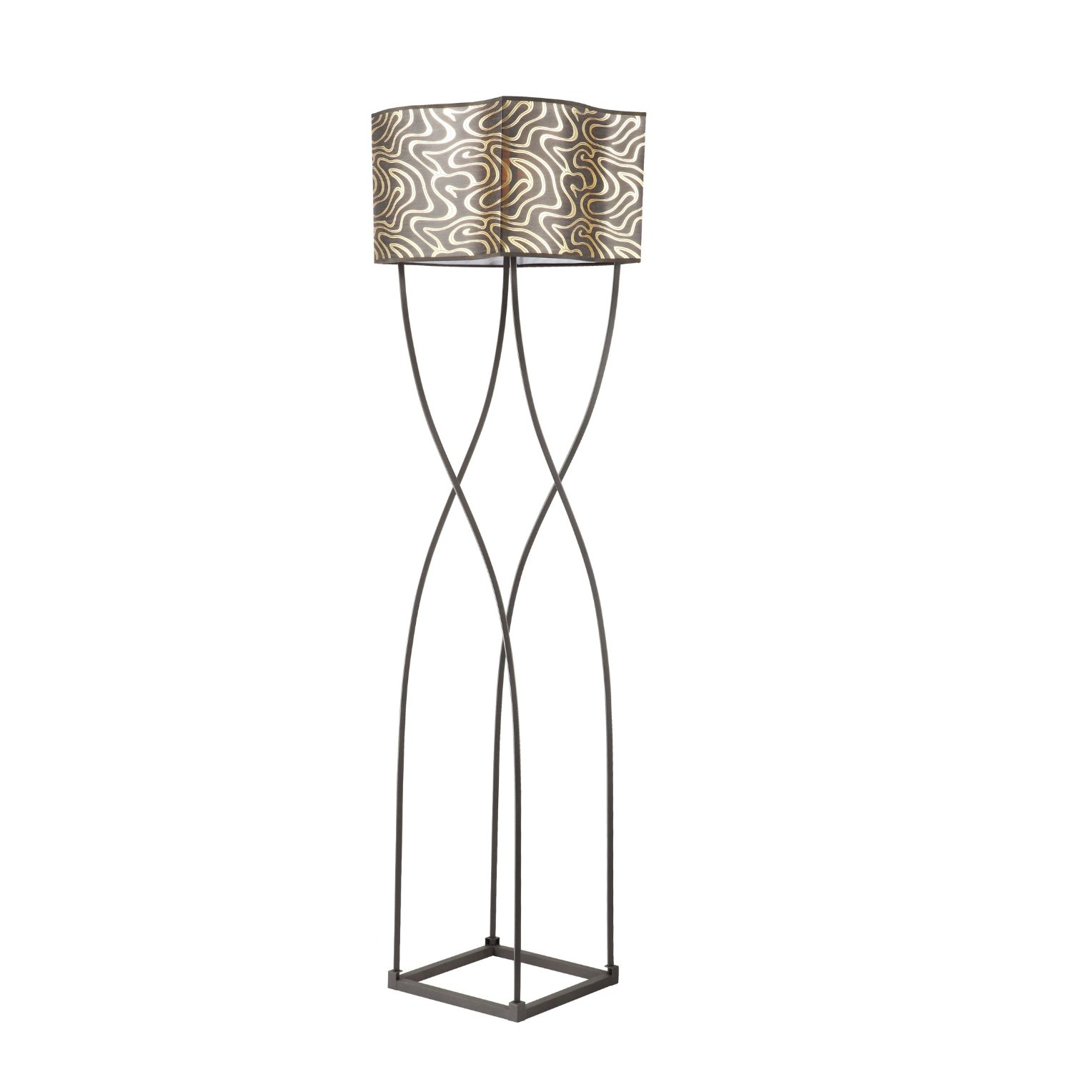 Art deco floor lamps 10 reasons to buy warisan lighting one attribute of art deco floor lamps is its enchanting look while making use of shapes such as this floor lamp geotapseo Images