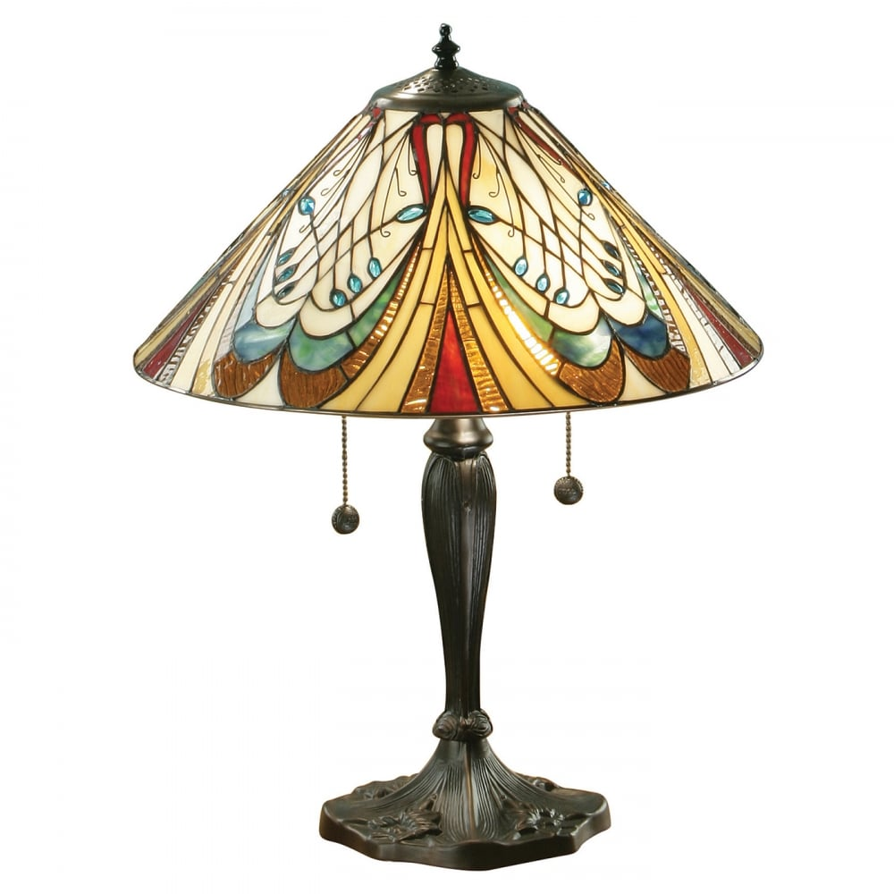 Top 10 art nouveau table lamps 2018 warisan lighting contemporary or current style lamps can be effectively brought into a conventional setting art nouveau table aloadofball Choice Image