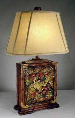 Types of Asian table lamps for different locations | Warisan Lighting