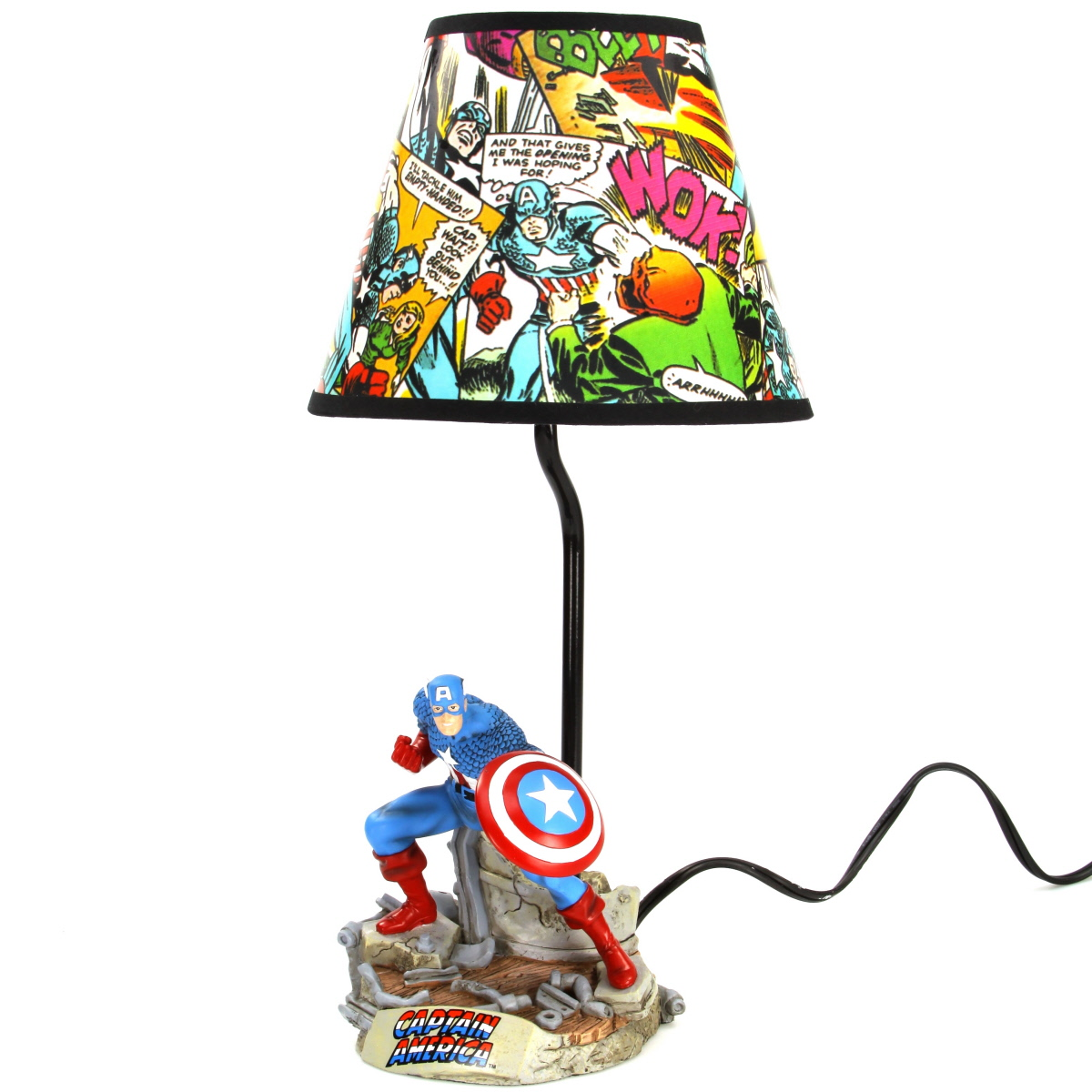 Wall Lamps Avengers : Avengers Lamp can Add A Unique Taste Of Fun and Colorful Illumination To Your Kids Room ...