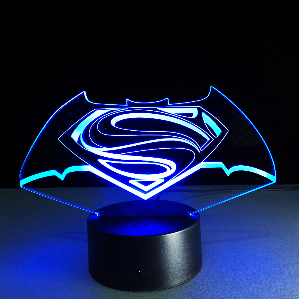 Great night lamps - There Is Also Another Type Of Batman Lamp Known As Batman Look Alike Novelty Mood Light For Kids This Type Of Lighting Is Great As A Night Light Or As A