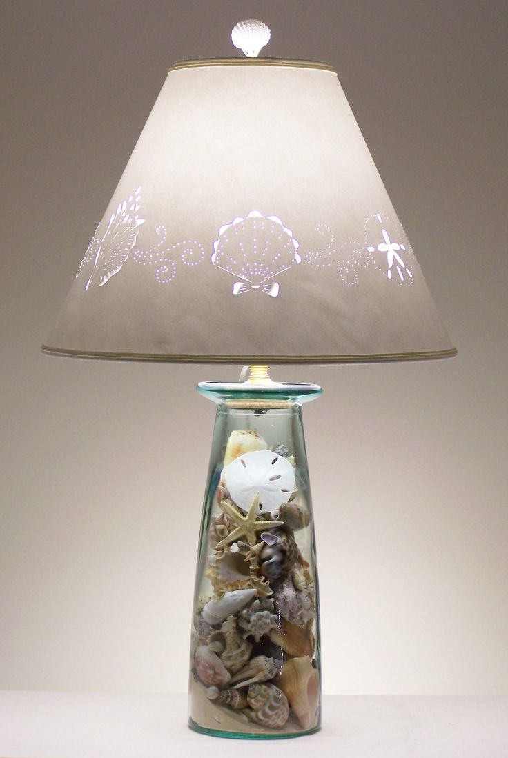 Bring the beach lamps to illuminate your night at the beach beach themed lamp shades aloadofball Choice Image