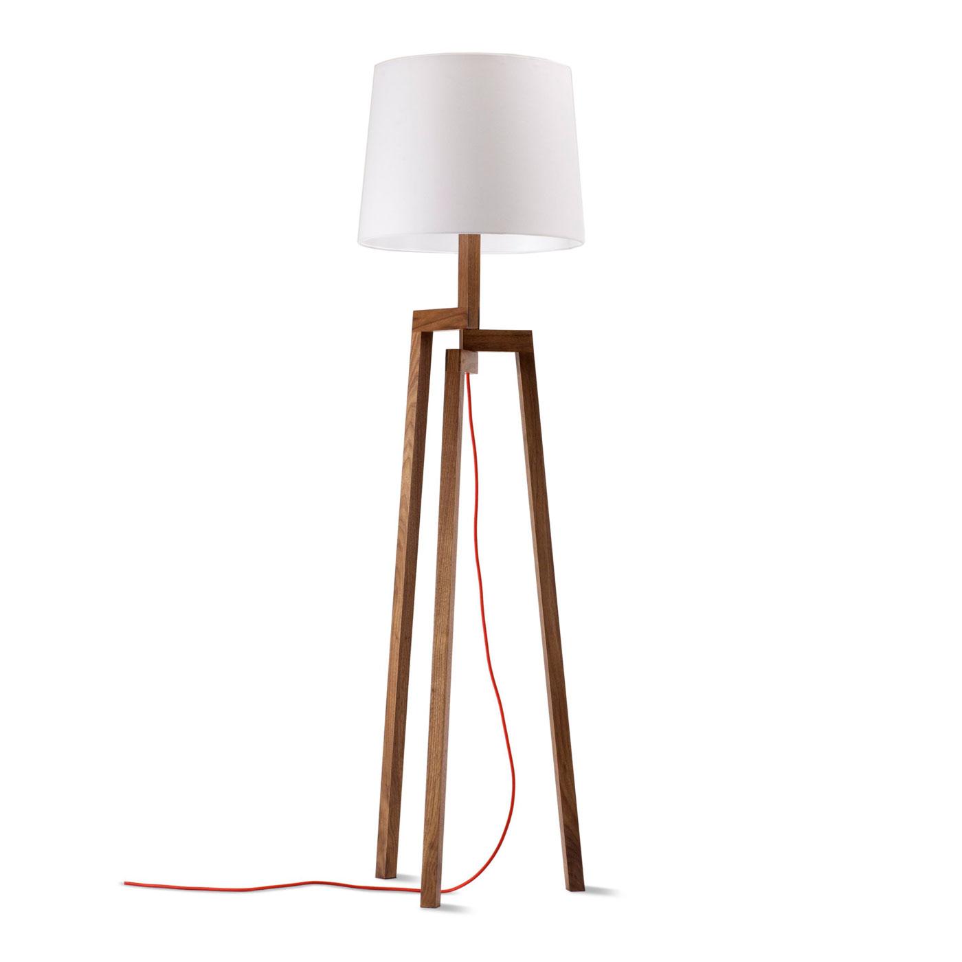 Wood desk lamp warisan lighting for Beautiful floor lamps