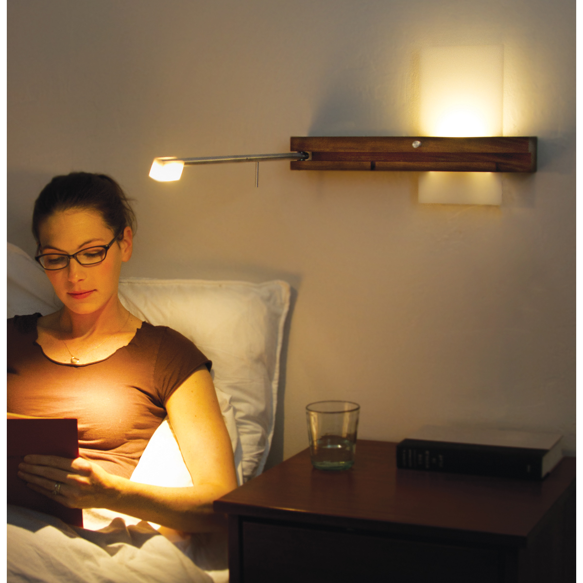 Table lamps for reading in bed - Size