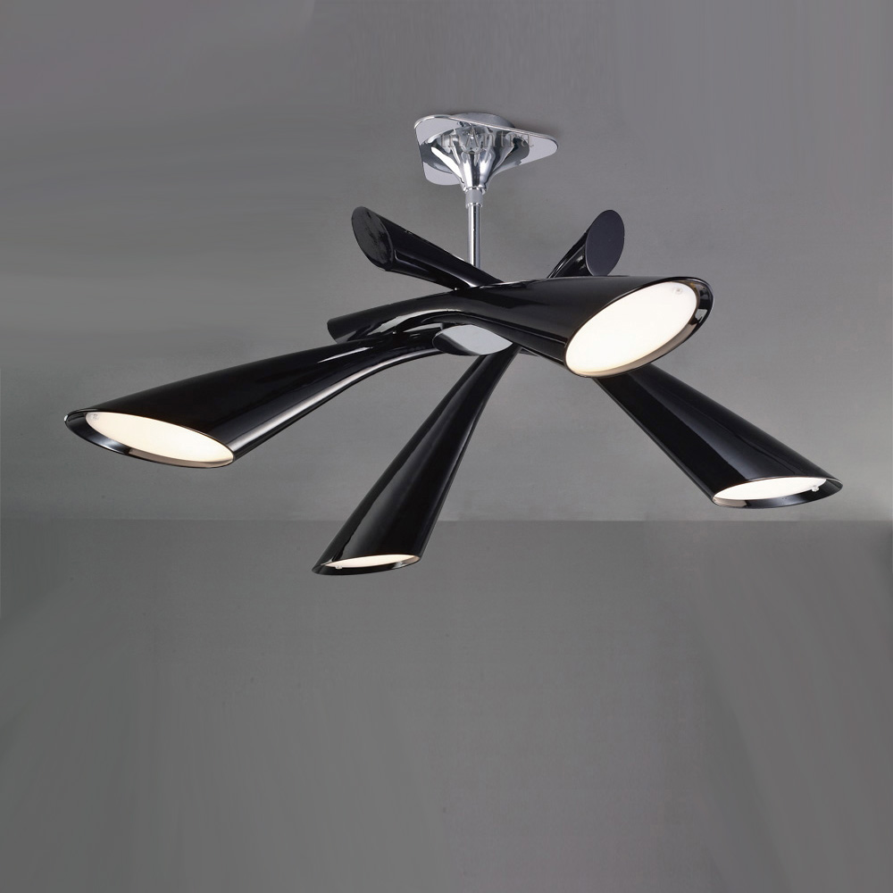 The Cost Of Black And White Ceiling Light Warisan Lighting