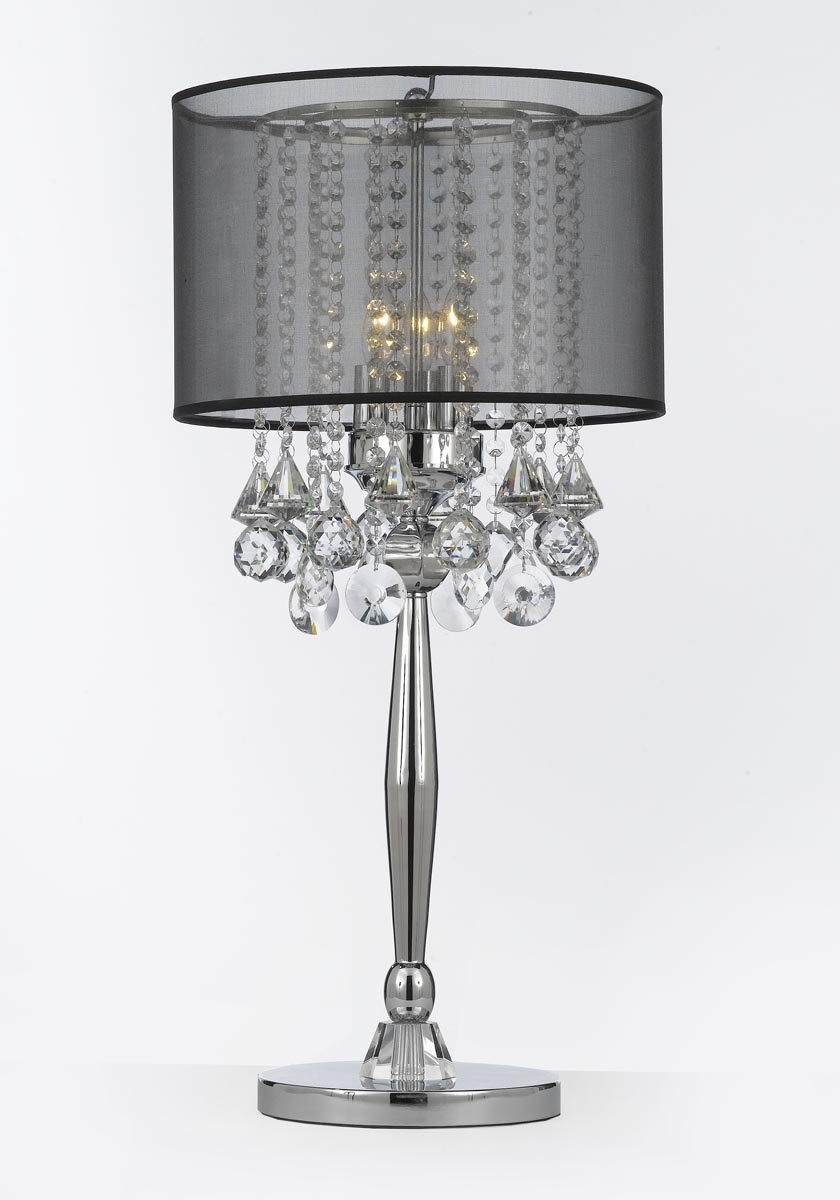 Hanging crystal table lamp - Crystal Table Lamp