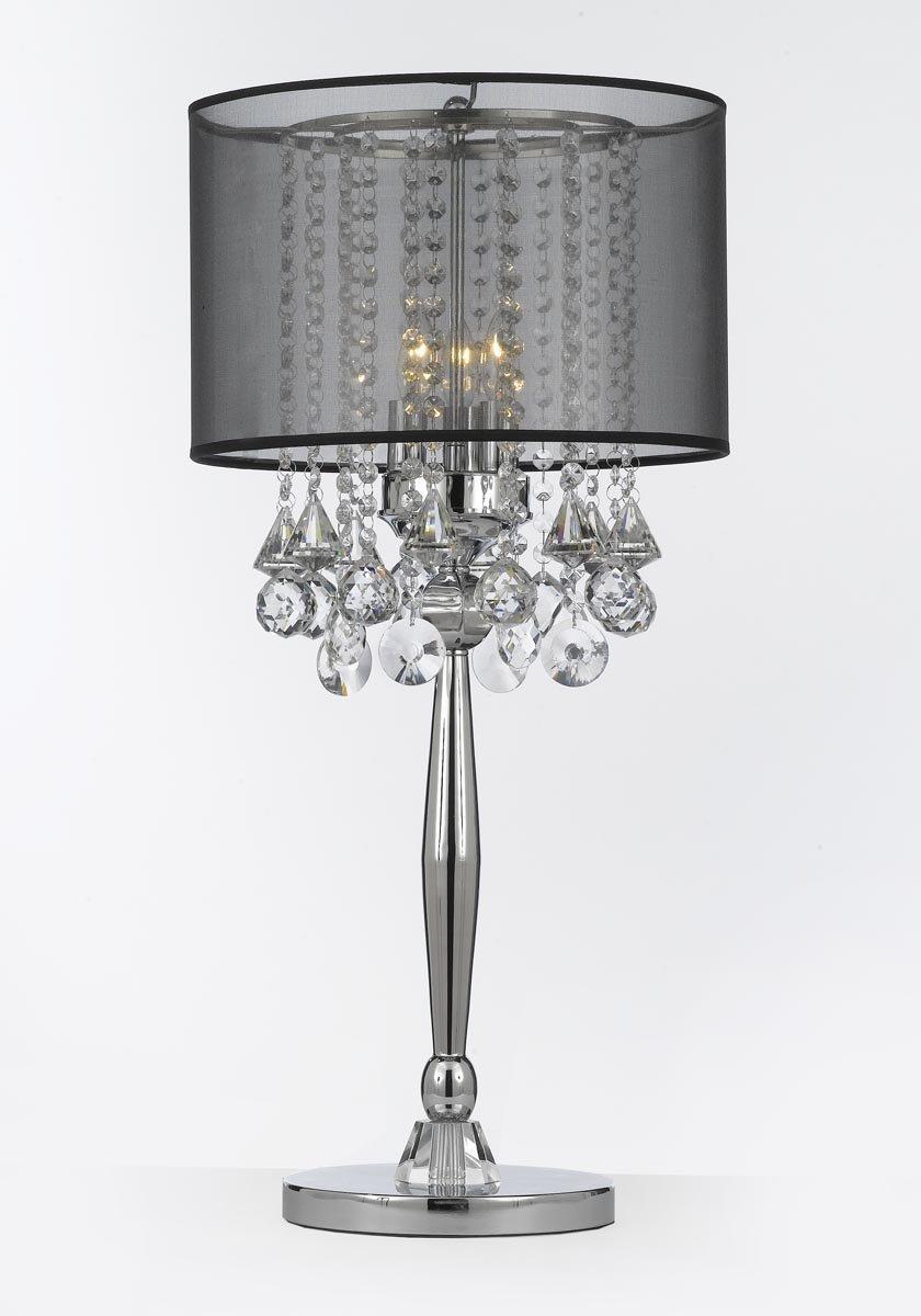 TOP 10 Black crystal table lamps 2017 | Warisan Lighting