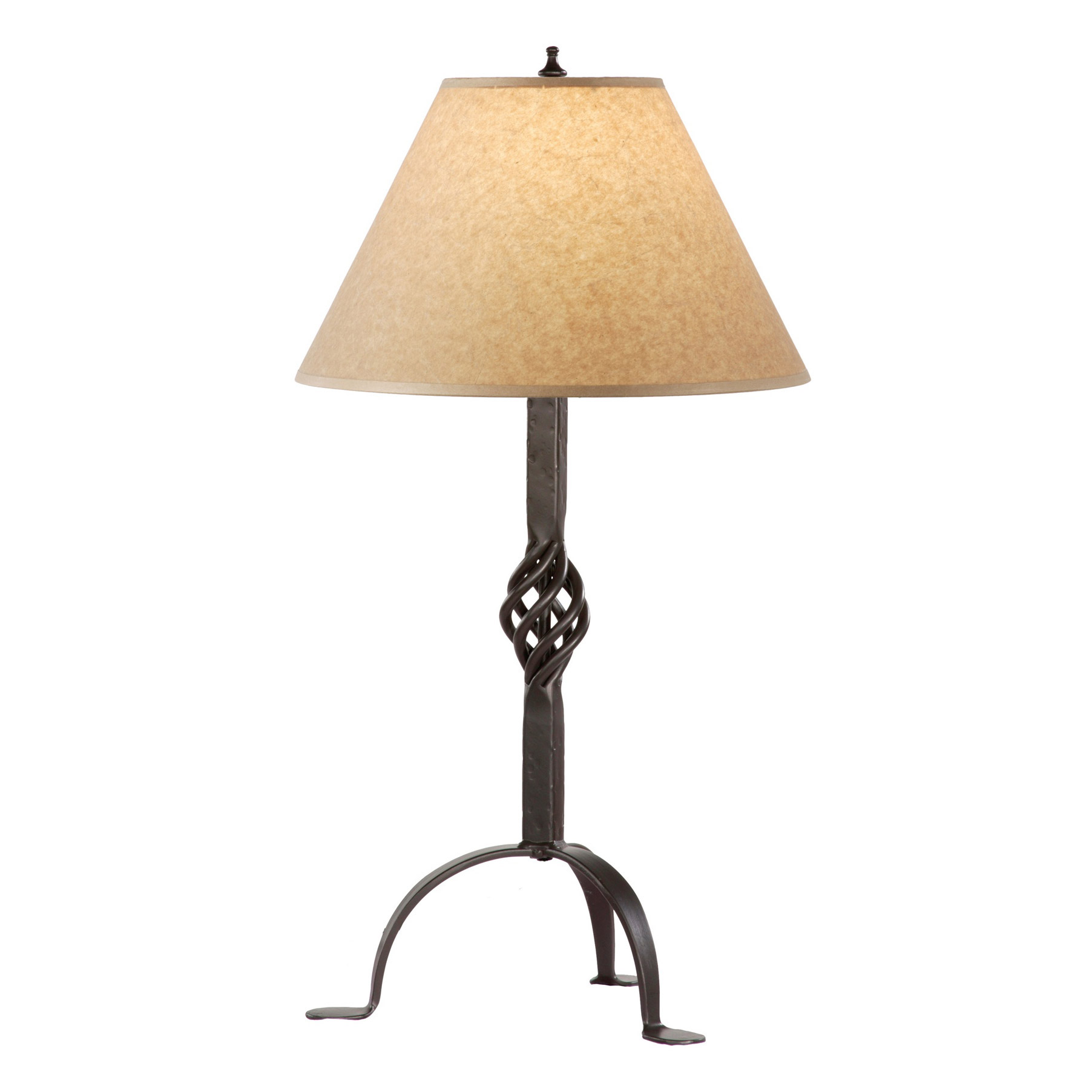 Black iron table lamp - Conclusion