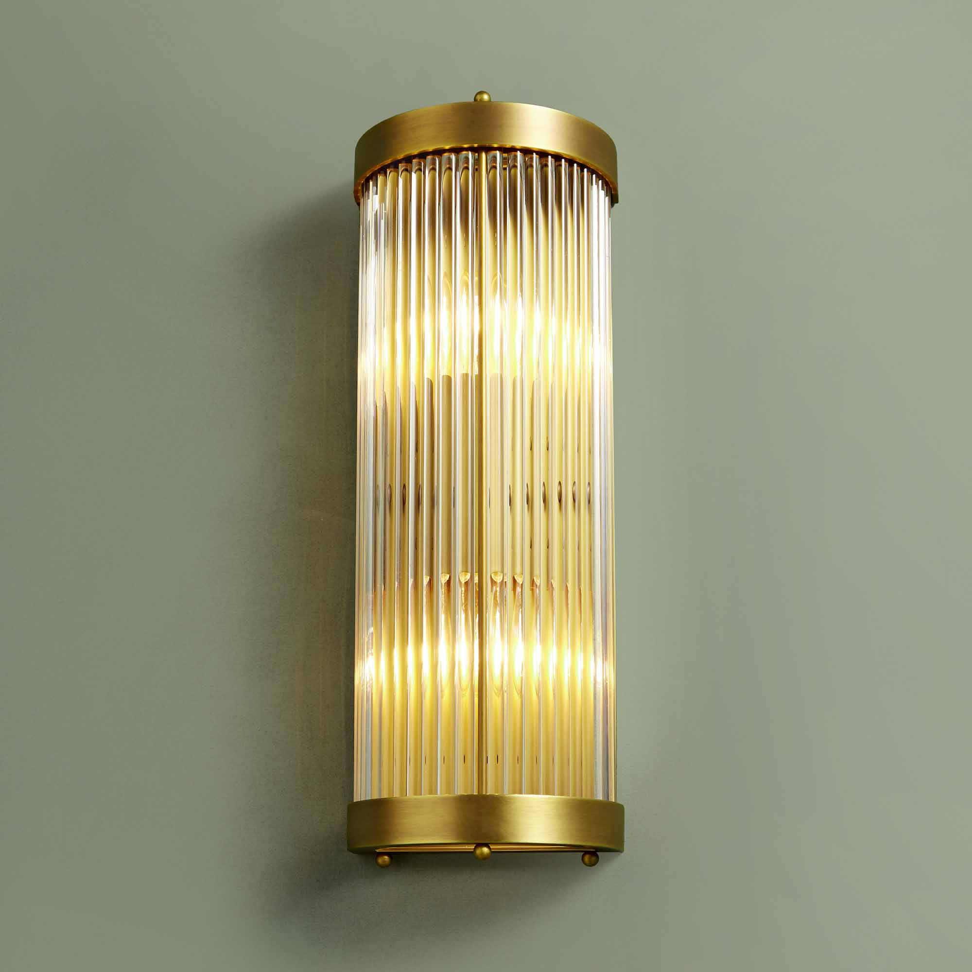 10 Reasons For The Brass Bathroom Wall Lights Warisan Lighting