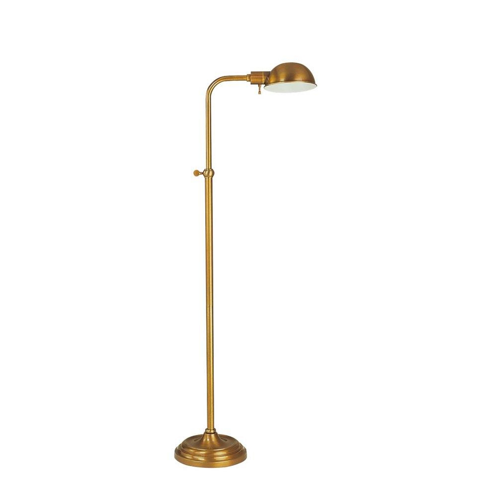 Brass pharmacy floor lamp 10 different stylistic themes for Floor lamp 10