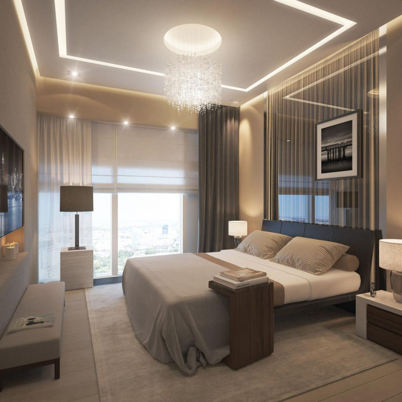 Adding fort to Your Bedroom Using Ceiling Bedroom Lights