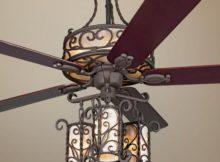 Ceiling fan chandelier light Photo - 1
