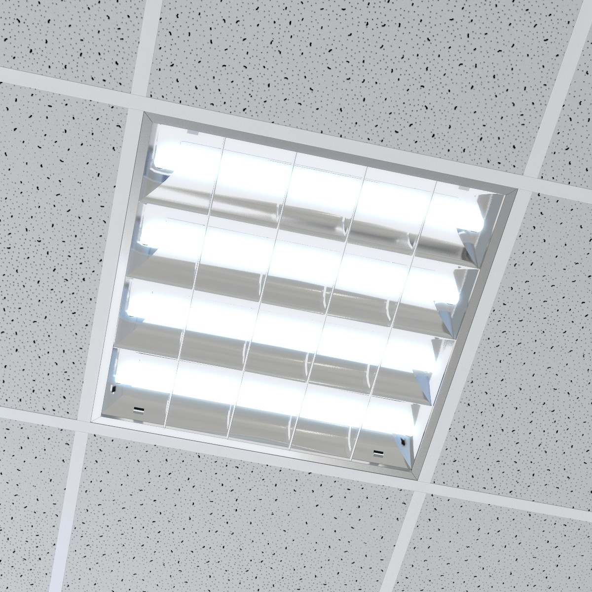 Where Are You Supposed To Put Your Ceiling Office Lights?