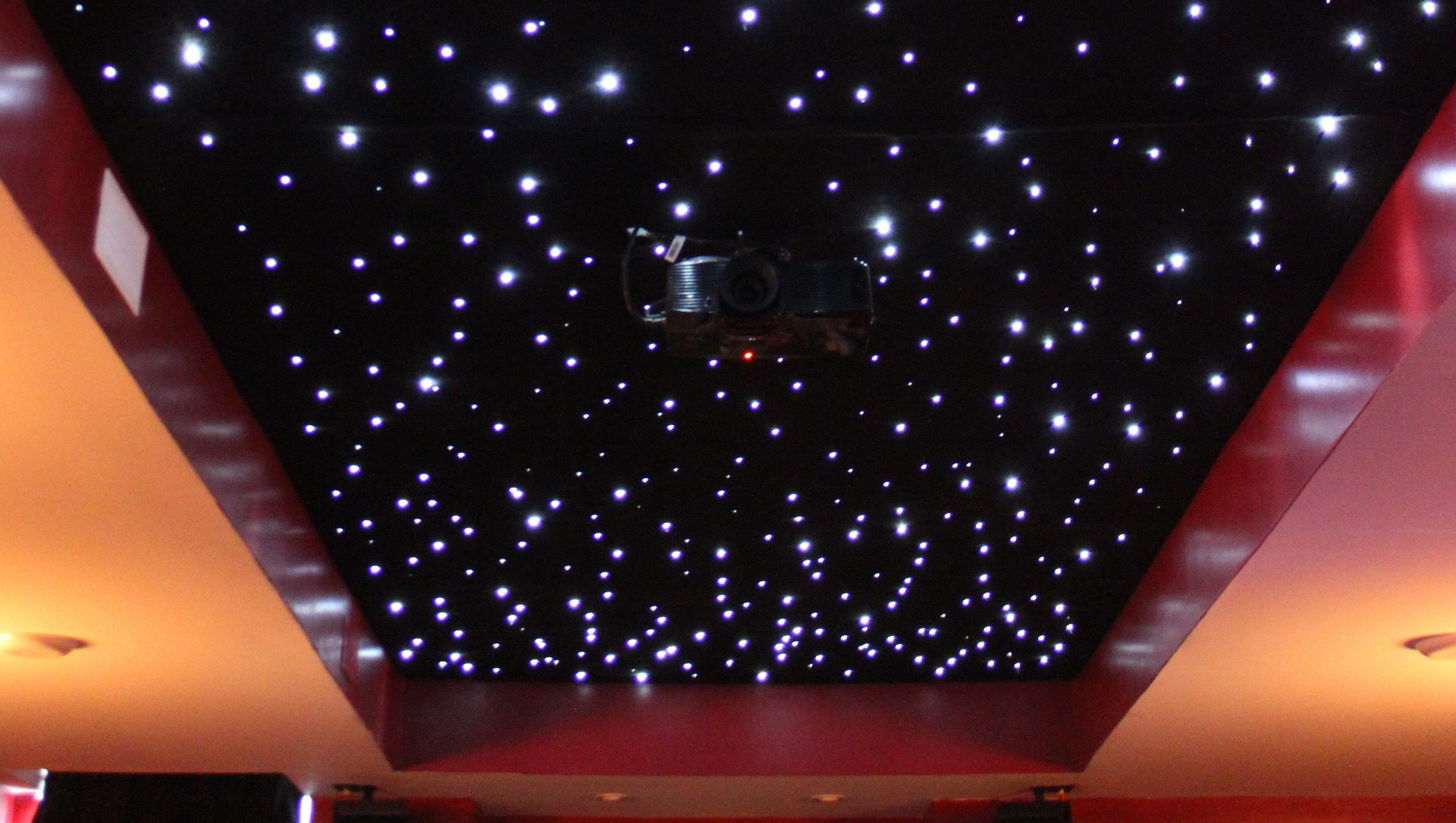 Ceiling Star Lights Fiber Optic Enhance The Space In