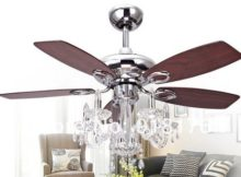 Chandelier ceiling fan light Photo - 1