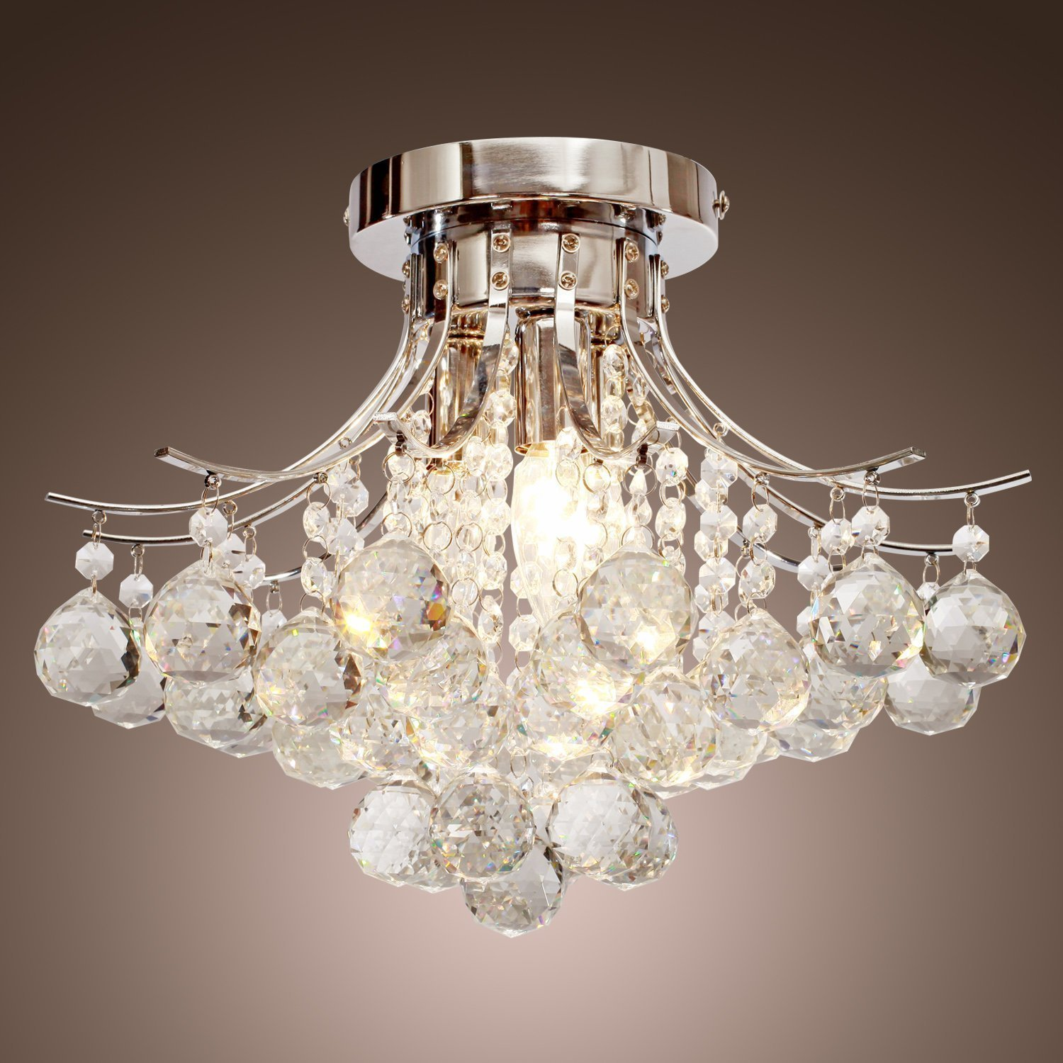 Choosing Chandelier ceiling lights for different rooms