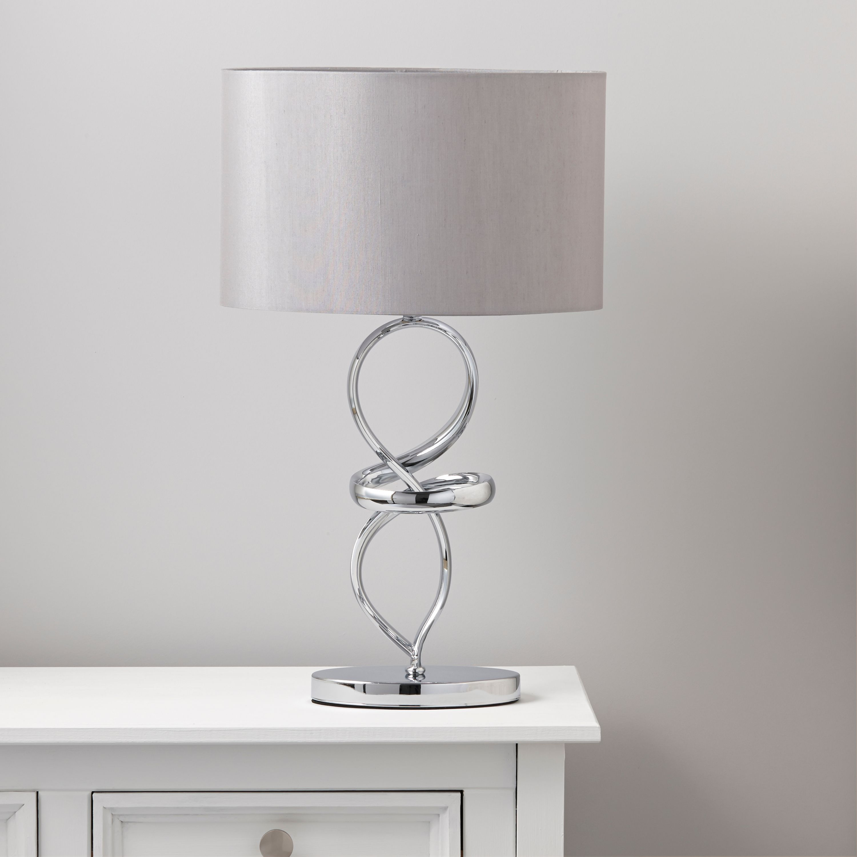 Chrome table lamps choose outdoor lamp post lighting warisan come in different colors aloadofball Choice Image