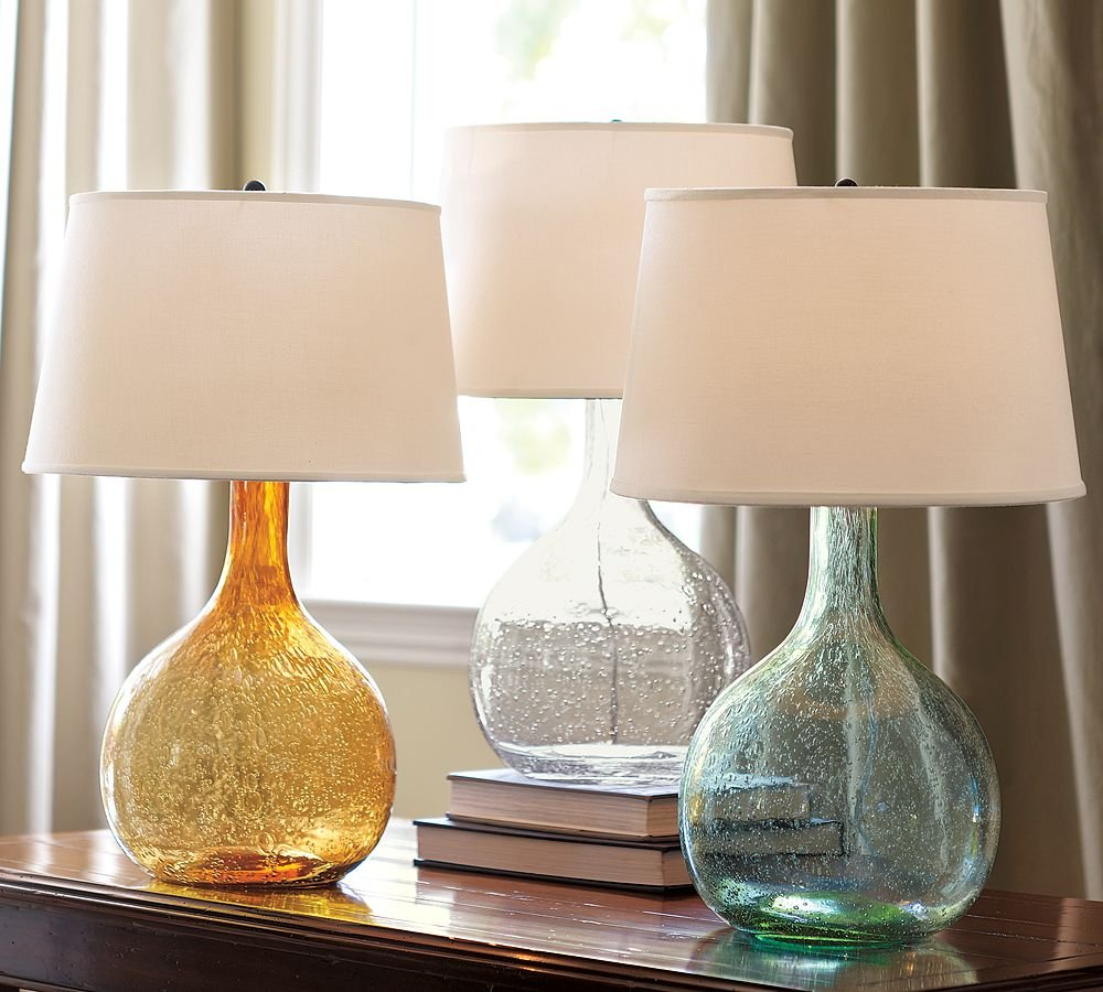 Small glass table lamps - Exquisite Colored Glass Table Lamps Selecting The One For You