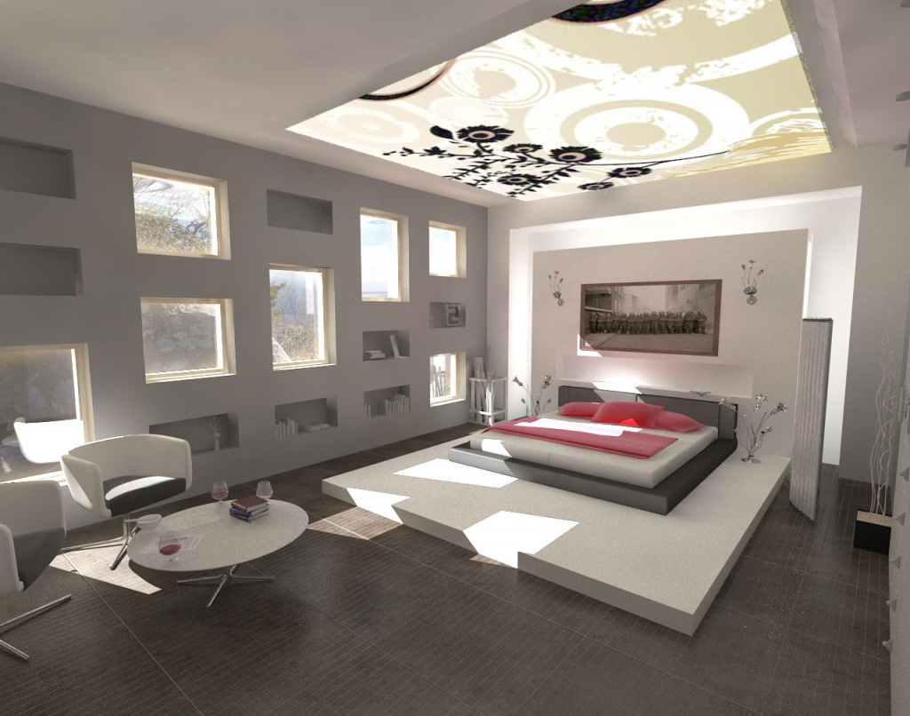 10 benefits of contemporary bedroom ceiling lights warisan lighting contemporary bedroom ceiling lights work in conjunction with wall lights and even floor standing lamps these lights are necessary for the room and can give mozeypictures Image collections