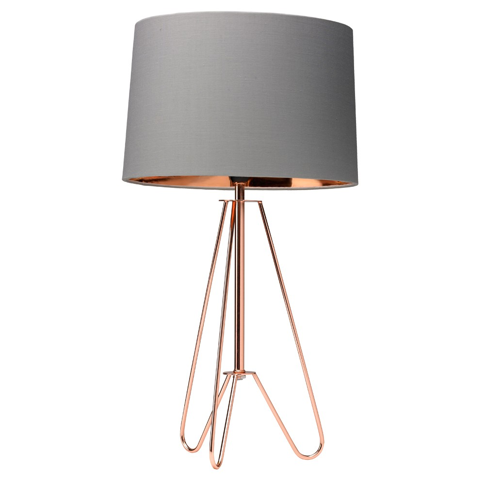 How A Copper Table Lamp Can Change The Ambiance Of A Room