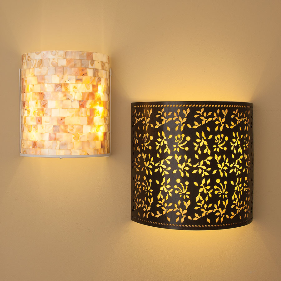 Cordless Wall Sconces Lighting : Sparkle your Home Interiors with Cordless wall lights Warisan Lighting