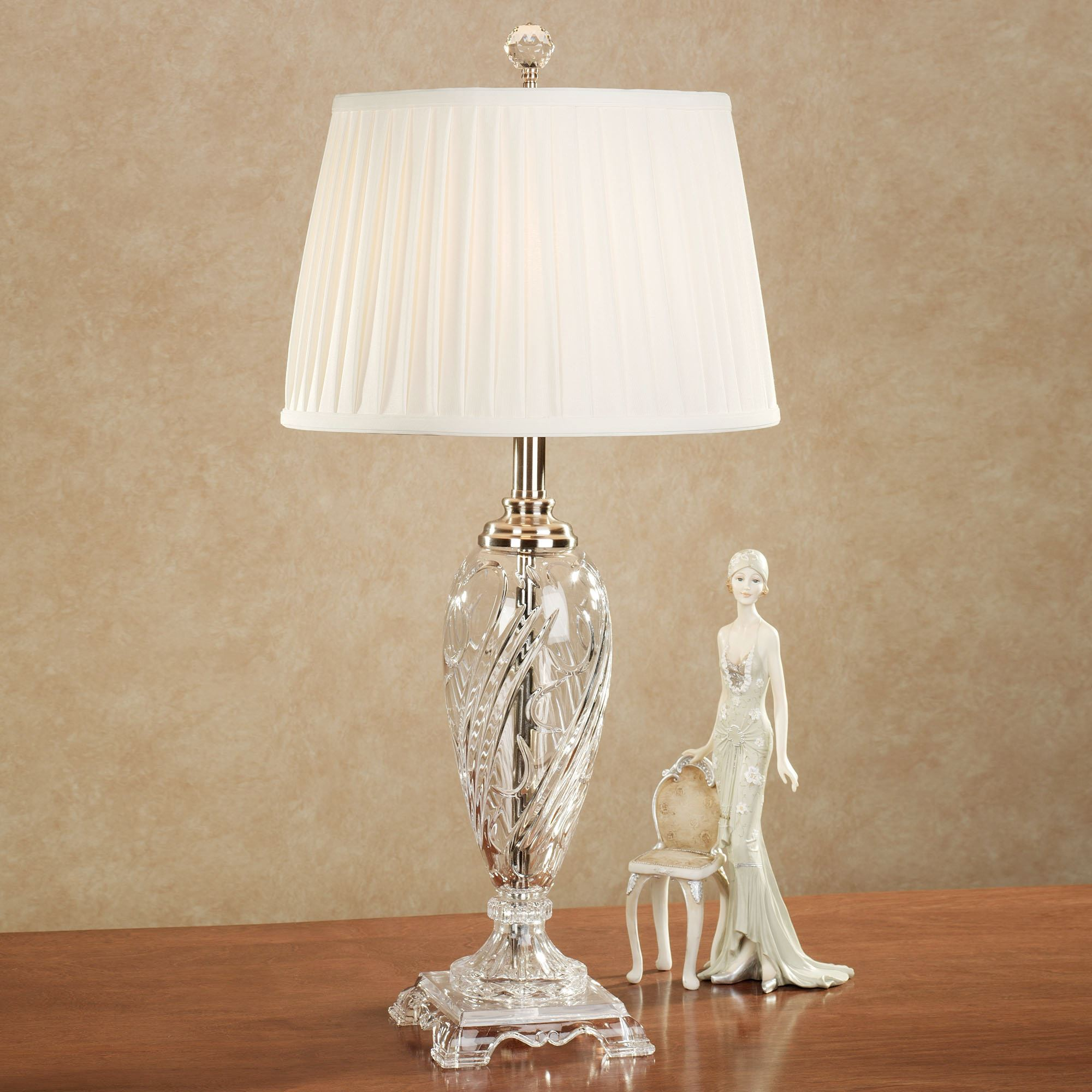 Decorating Your Home with crystal lamps table
