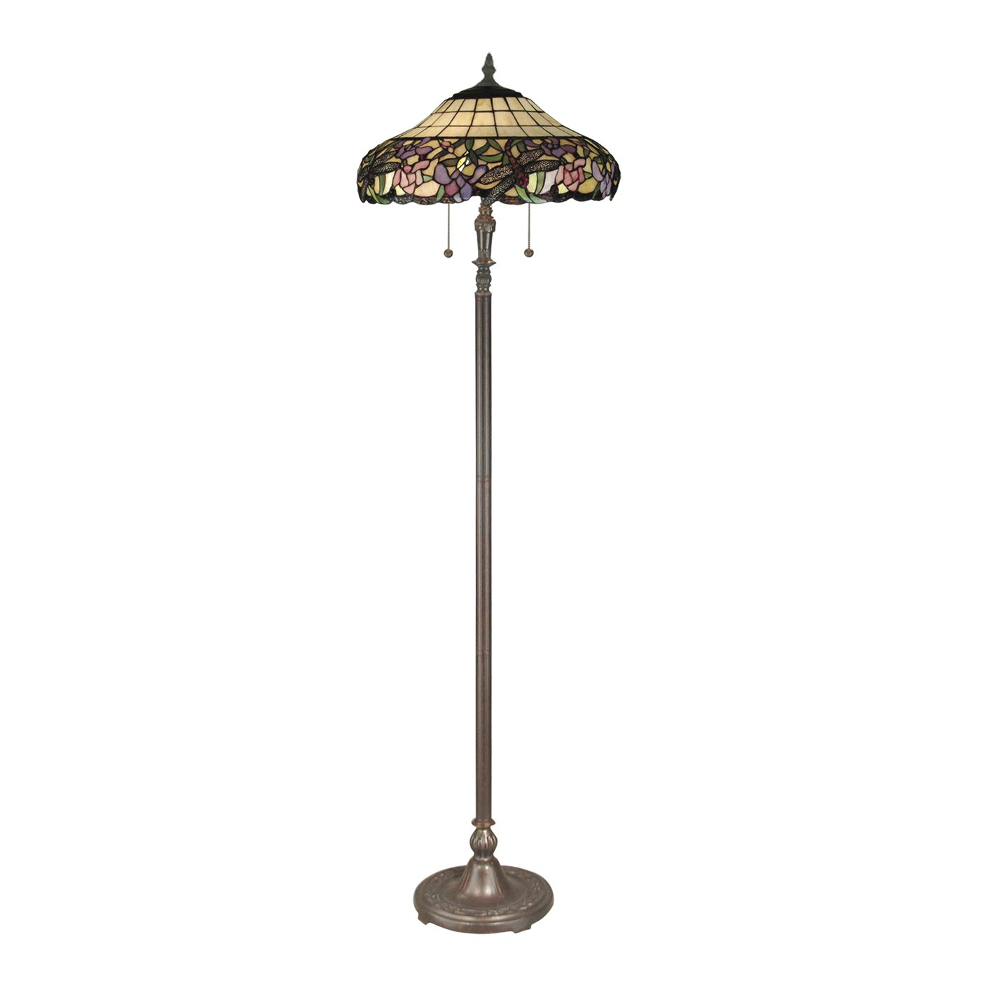 Dale Tiffany Lamps: Itu0027s All In The Colors