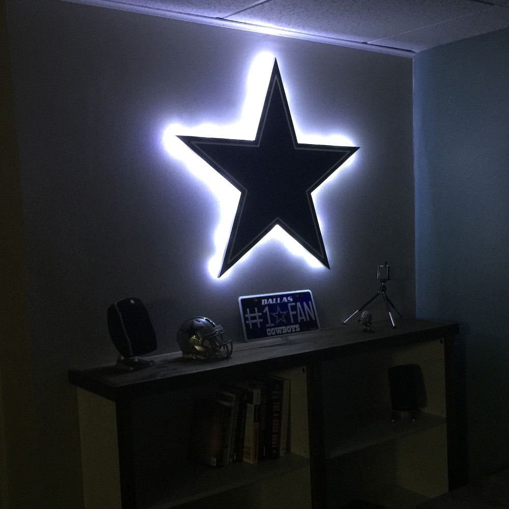 Make Stars Shining In Your Room With Dallas Cowboys Lamps Warisan