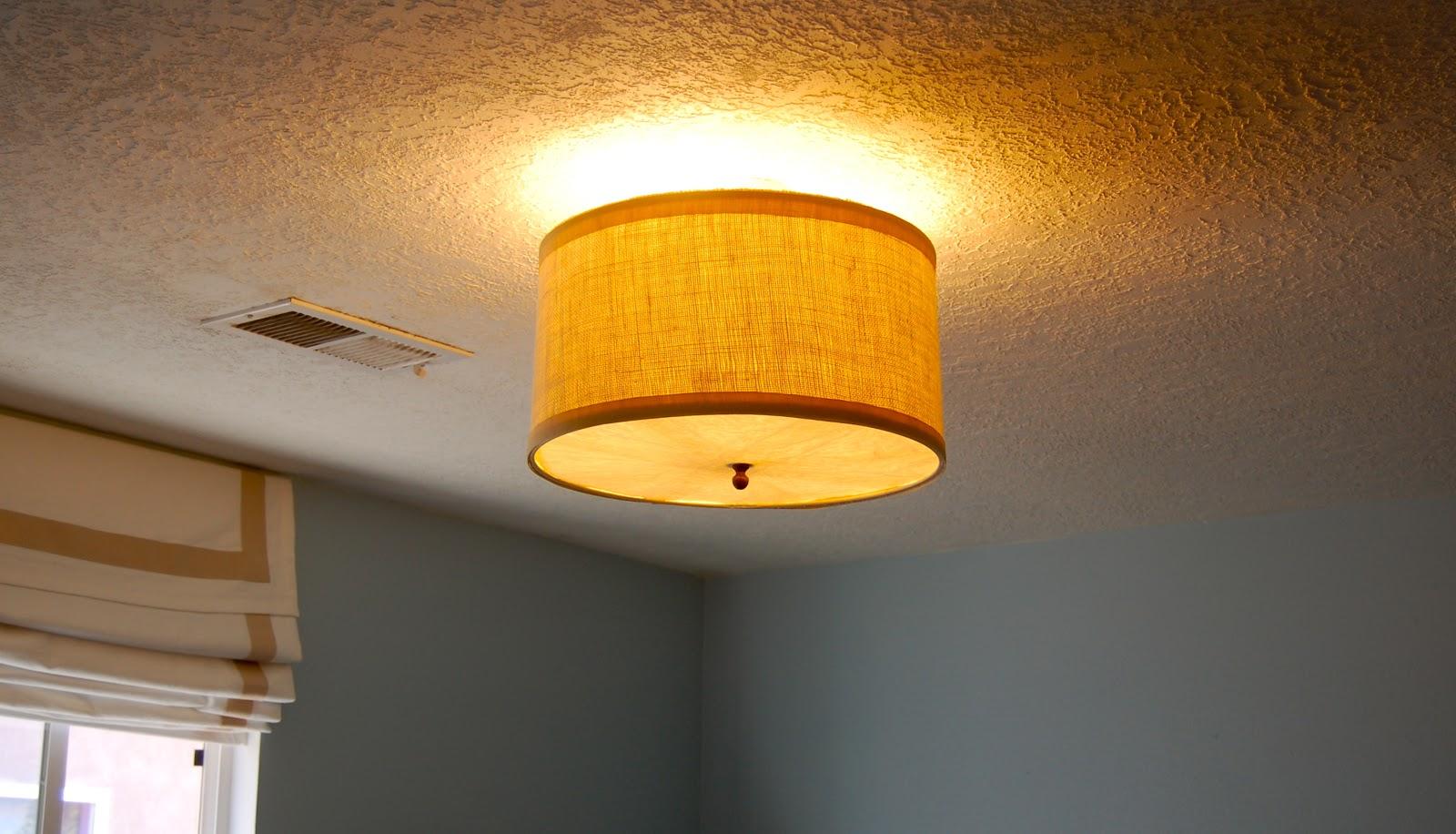 Diy Ceiling Light Cover Designs