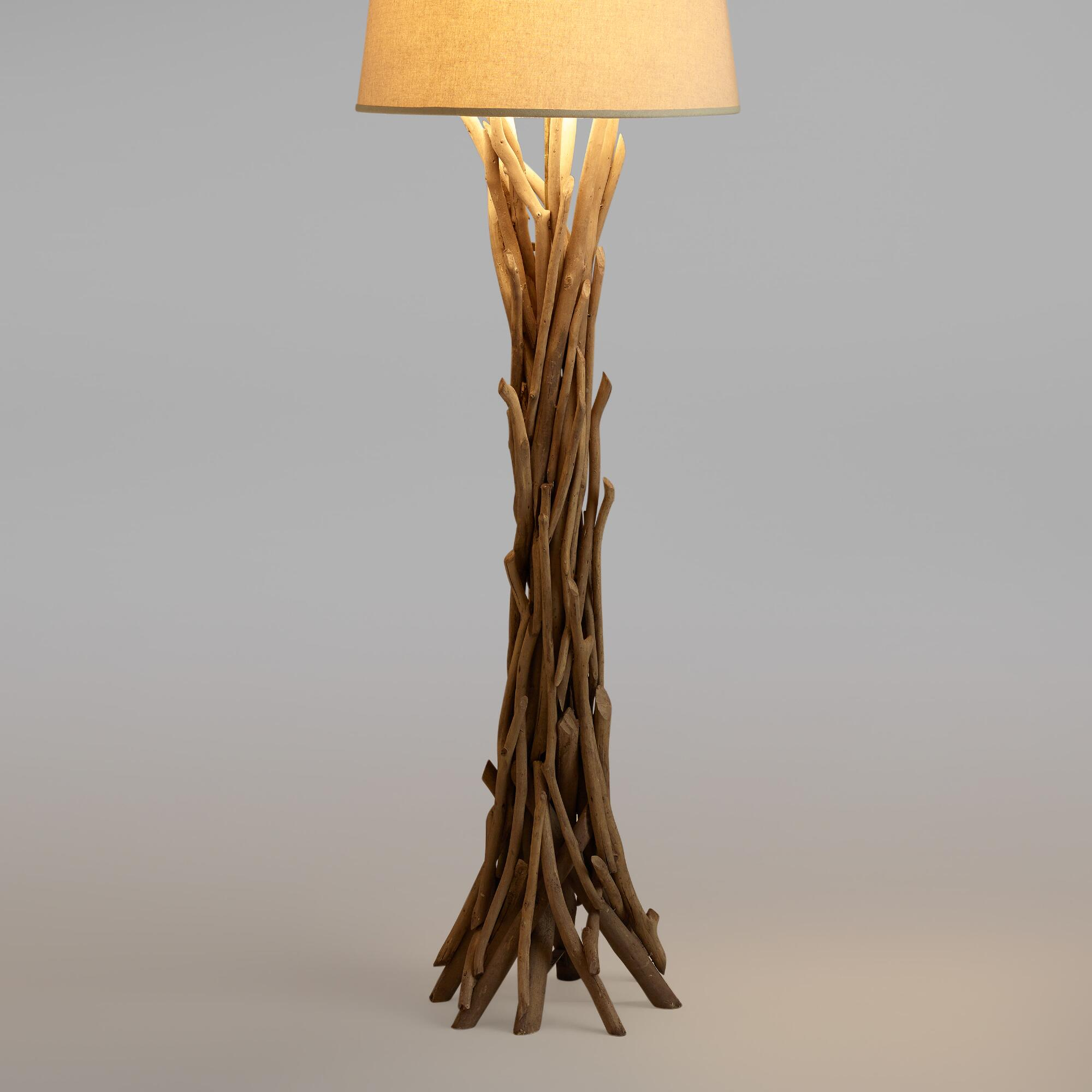 Lamp Plus Stores: The Uses Of Driftwood Table Lamps