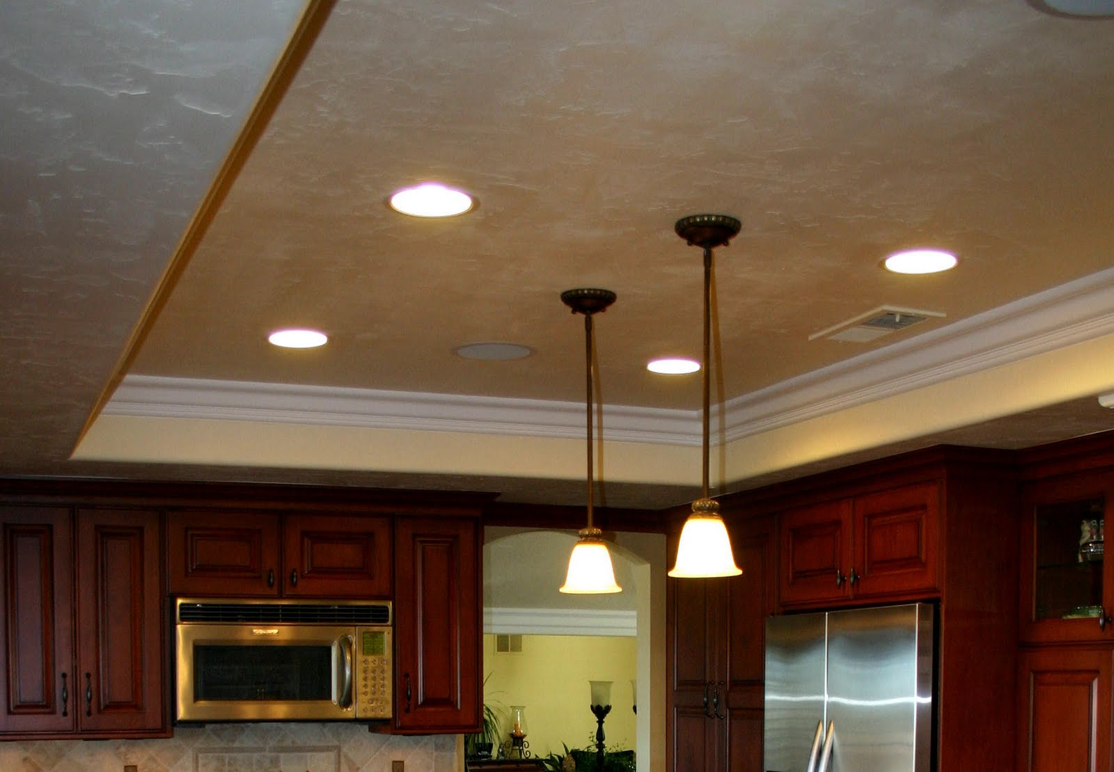 Installing Drop Down Ceiling Lights