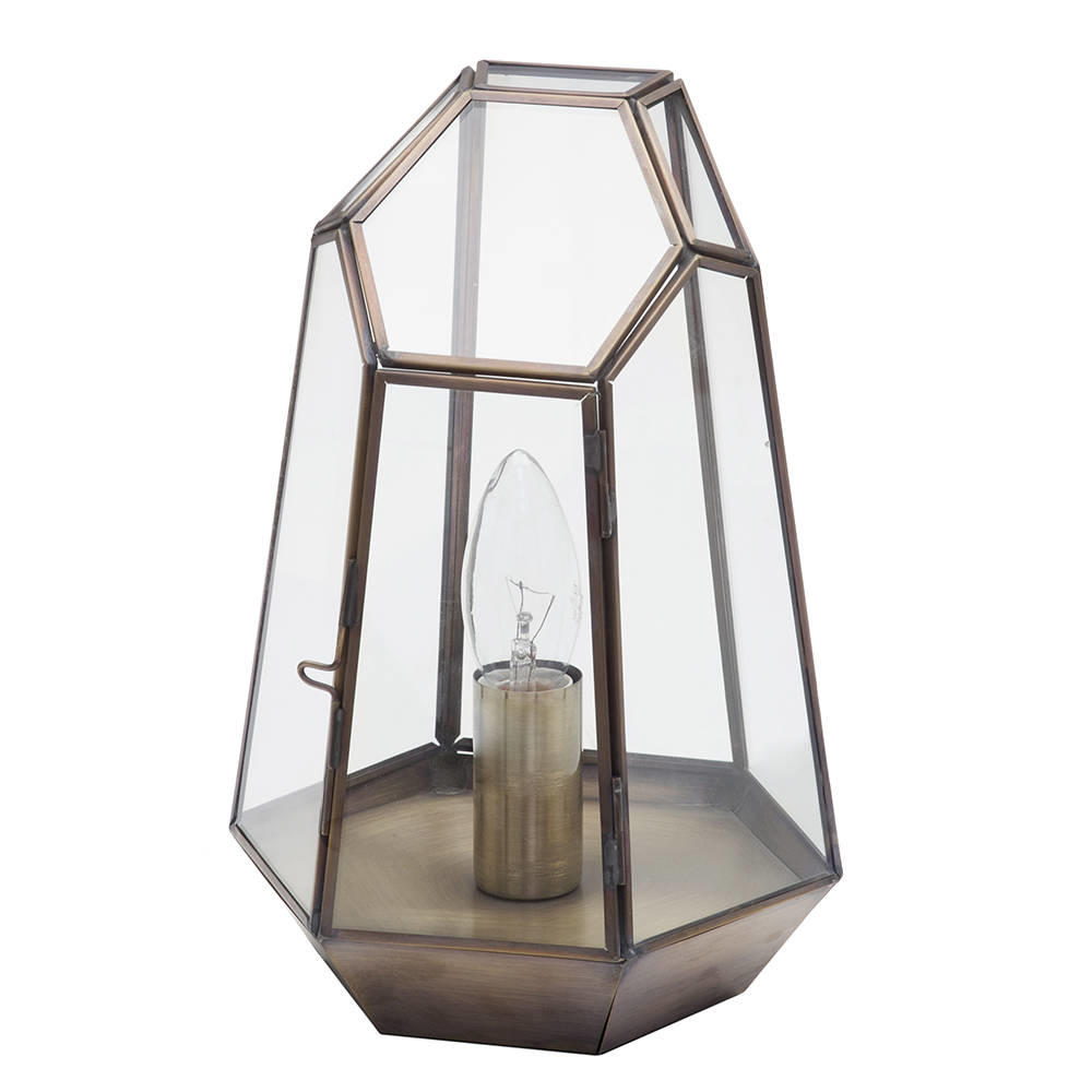 Electric Lantern Table Lamp
