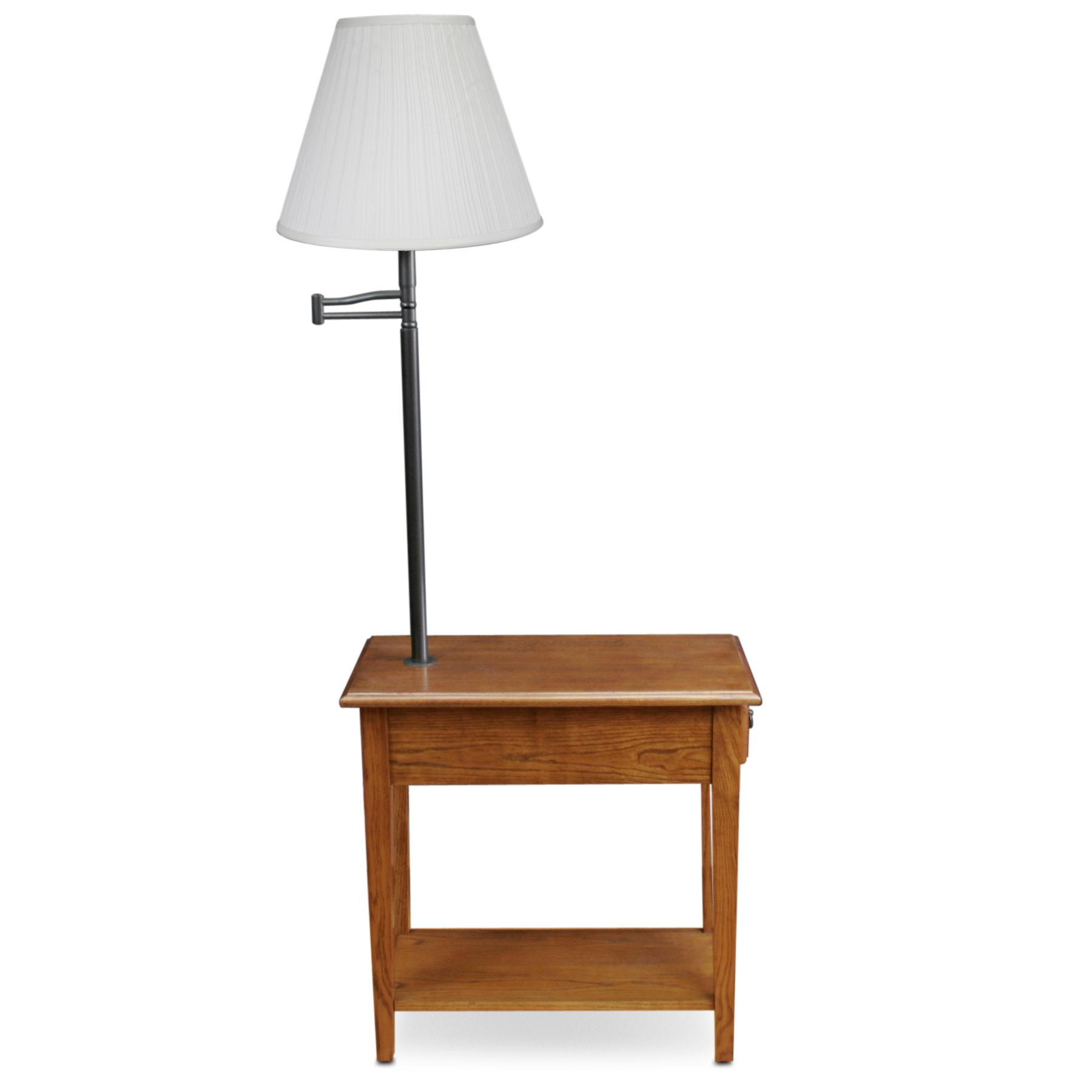 Nice Versatile. End Table With Lamp Attached ...