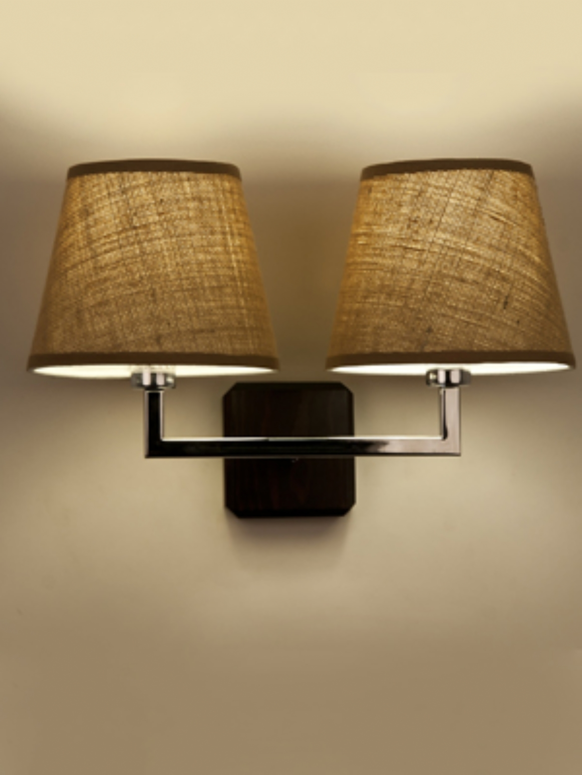 Wall Lamps With Shades : Fabric wall light shades - upgrade your interior design on a small budget Warisan Lighting