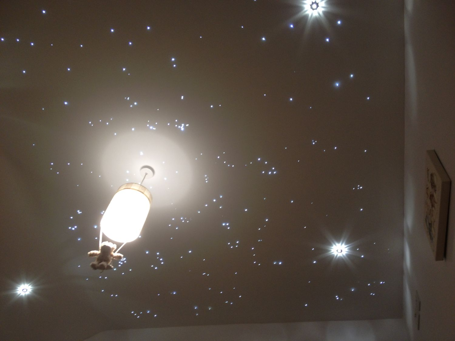 Fibre Optic Ceiling Light That Produce Light For Your