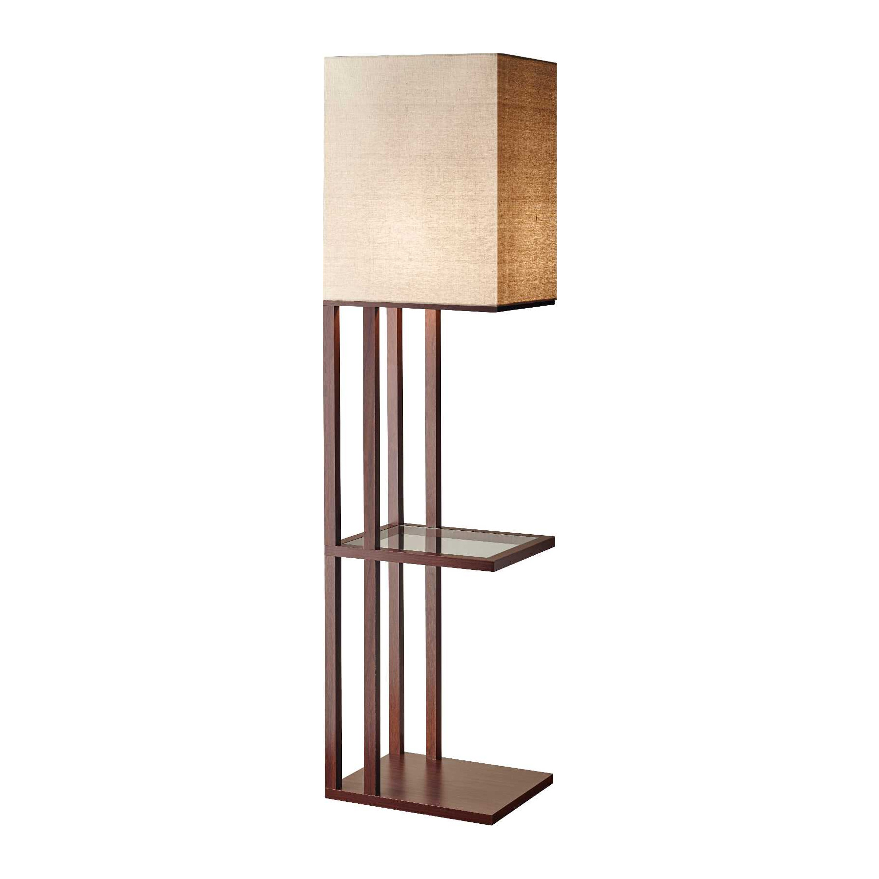 Attractive Accessorizing Lamp With Shelf