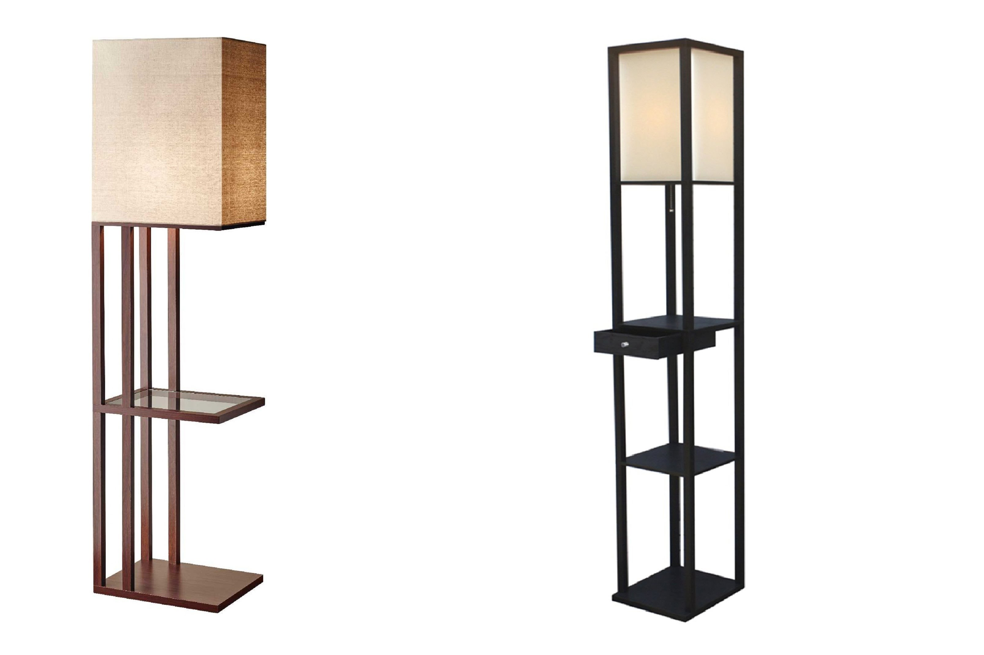 10 things to consider before buying floor lamp with Floor lamp with shelves