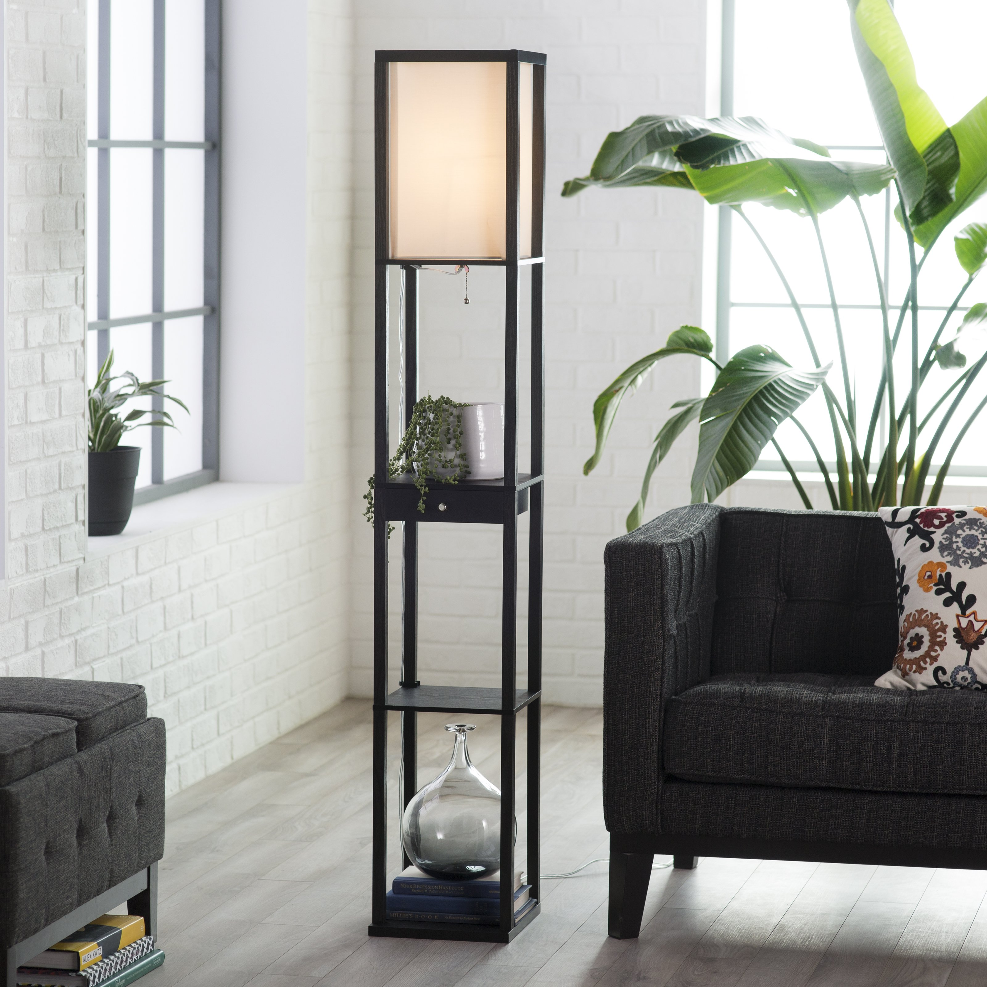 10 things to consider before buying Floor lamp with shelves ...